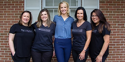 The Chatham Orthodontics team - contact us today!