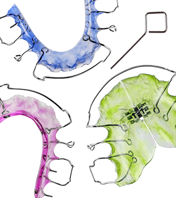 Retainers, which are part of the appliances we offer at Chatham Orthodontics