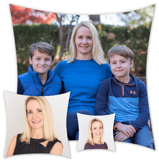 Dr. Barbara Fodero who is an orthodontist in Chatham, NJ with her boys